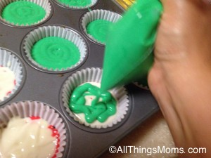 Fill cupcakes