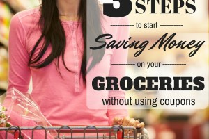 Saving Money on Groceries without using coupons
