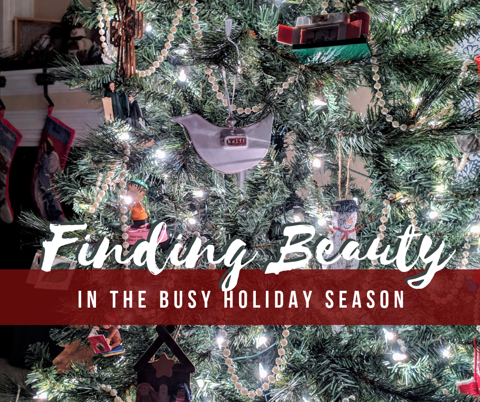 Choosing to find Beauty when you're tired this Christmas